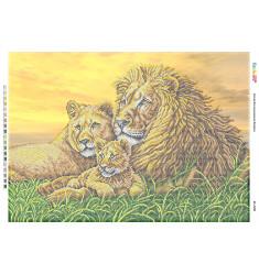 Родина левів І (част. виш.) ([БС 2108])