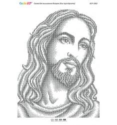 Лик Ісуса Христа (срібло) ([БСР 3362])