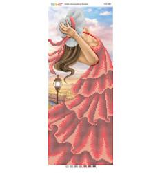 Дівчина у червоному платті ([ПМ 4083])