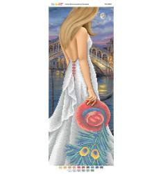 Дівчина на фоні Венеції ( част . виш) ([ПМ 4084])